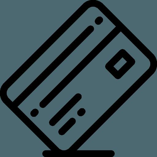 Credit card icon | Bowling Carpet
