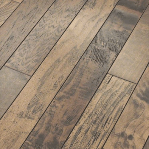 Distressed hardwood flooring | Bowling Carpet