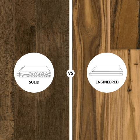 Solid vs engineered square | Bowling Carpet