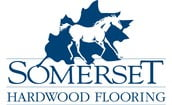 Somerset Hardwood flooring logo | Bowling Carpet