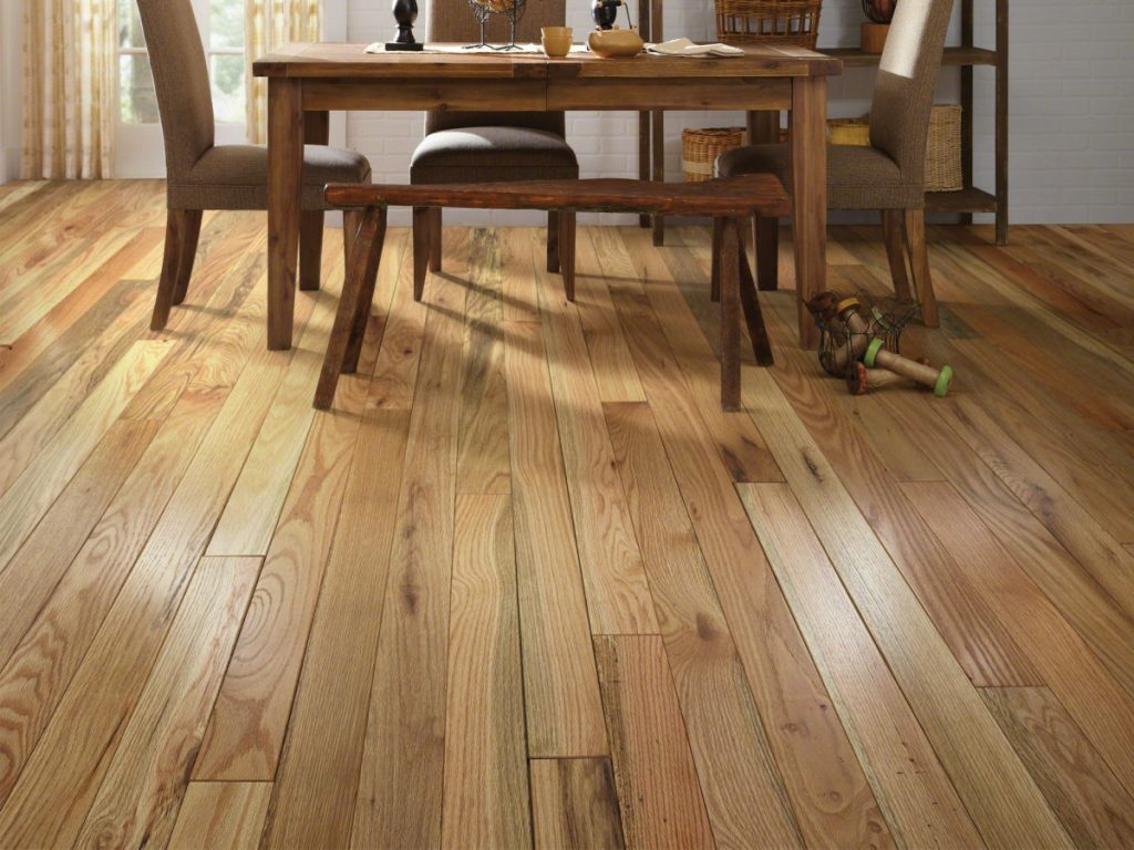 Dining room Hardwood flooring | Bowling Carpet