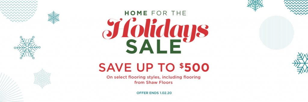 Home for the holidays sale | Bowling Carpet