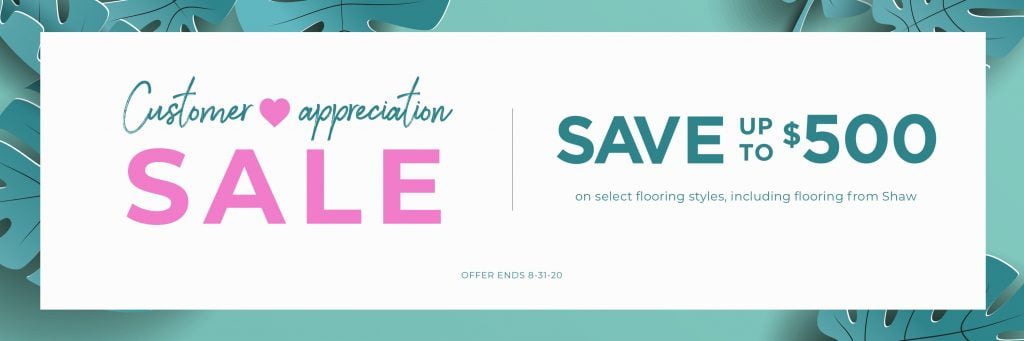 Customer Appreciation Sale | Bowling Carpet